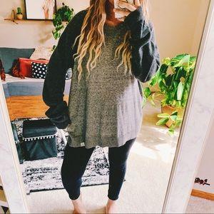 Lucky brand oversized raglan light sweater p8